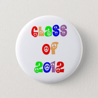 Class of 2012 6 cm round badge