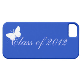 Class of 2012 - Blue Butterfly iPhone 5 Covers