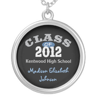 Class Of 2012 Blue Pendant