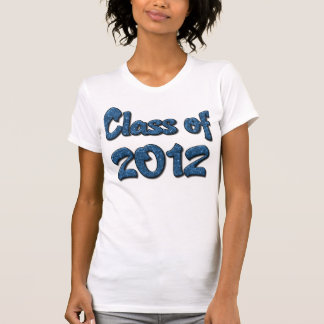 Class of 2012 - Blue Tank Tops
