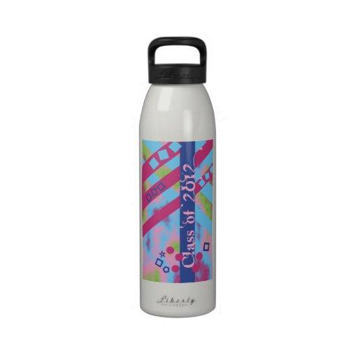 Class of 2012 Geometrics Water Bottle