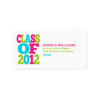 Class of 2012 | Graduation Address Label
