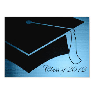 class of 2012 graduation cap 13 cm x 18 cm invitation card