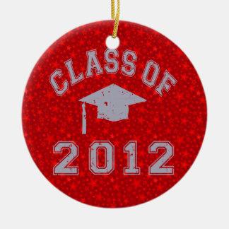 Class Of 2012 Graduation Round Ceramic Decoration