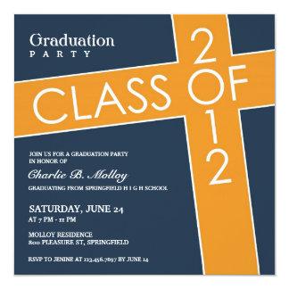 Class of 2012 Graduation Flat Invitation