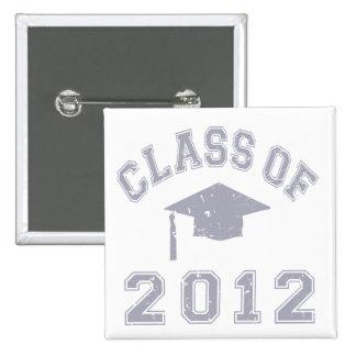 Class Of 2012 Graduation - Grey Pins