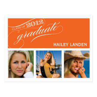 Class of 2012 Graduation Invitation Postcard