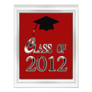 Class Of 2012 Graduation Invitations