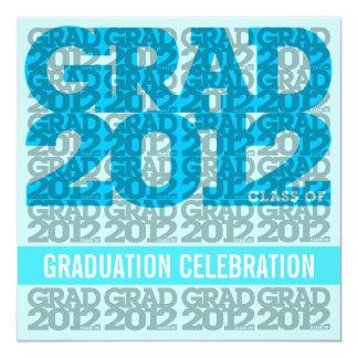 Class Of 2012 Graduation Party Invitation 12BG