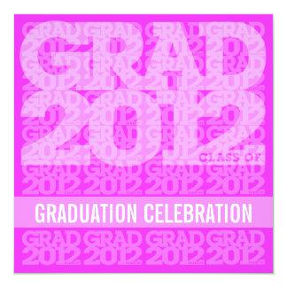 Class Of 2012 Graduation Party Invitation 12PW