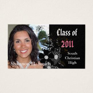 Class of 2012 Graduation Senior Cards