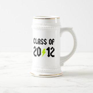Class Of 2012 Graduation Yellow Bolt Mug
