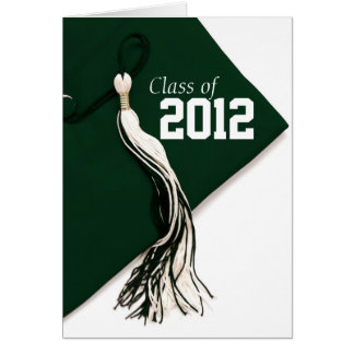 Class of 2012 Green Graduation Card