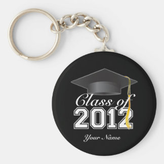Class of 2012 Key-chain Basic Round Button Key Ring