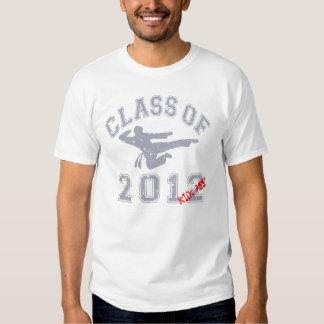 Class Of 2012 Kick-Ass - Grey 2 D Shirt