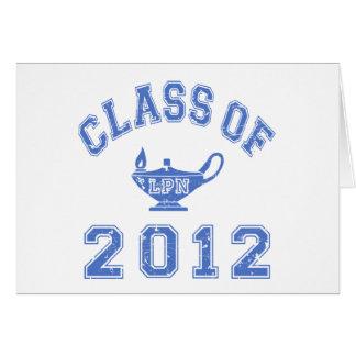 Class Of 2012 (LPN) Card
