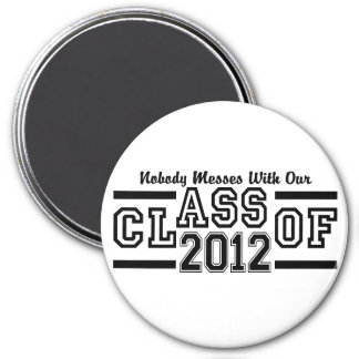 CLASS OF 2012 magnet - large & customizable