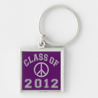 Class Of 2012 Peace - Grey 2 Key Chains