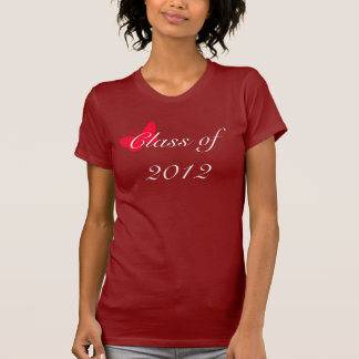 Class of 2012 - Red Butterfly Tees