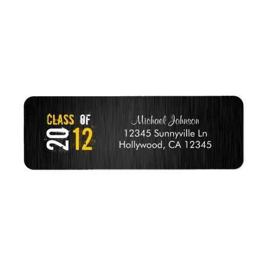 Class of 2012 Return Address Label
