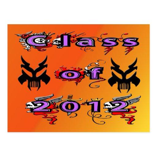 Class of 2012 - Skulls Postcards