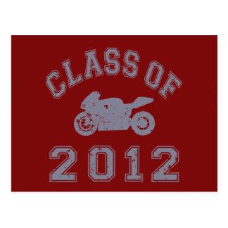Class Of 2012 Superbike - Grey 2 Postcard