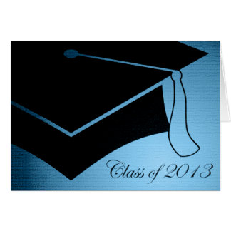 class of 2013 graduation cap card