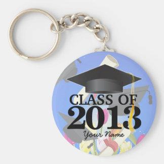 Class of 2013 Graduation Key-Chain blue Keychain