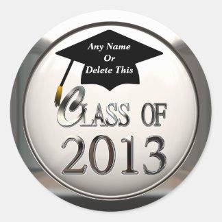 Class Of 2013 Graduation Stickers