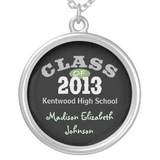 Class Of 2013 Green Pendants
