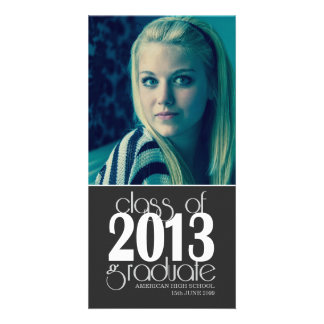 Class of 2013 High School Graduation Photo Card