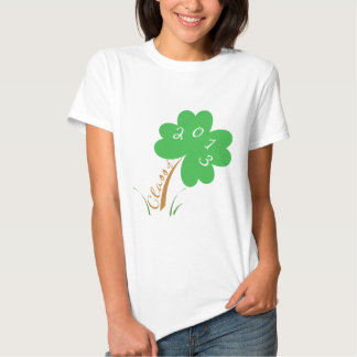 Class of 2013 lucky 4-leaf clover t shirts