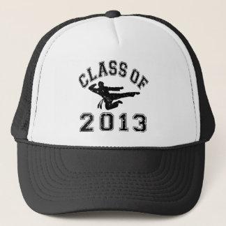 Class Of 2013 Martial Art - Black 2 D Trucker Hat