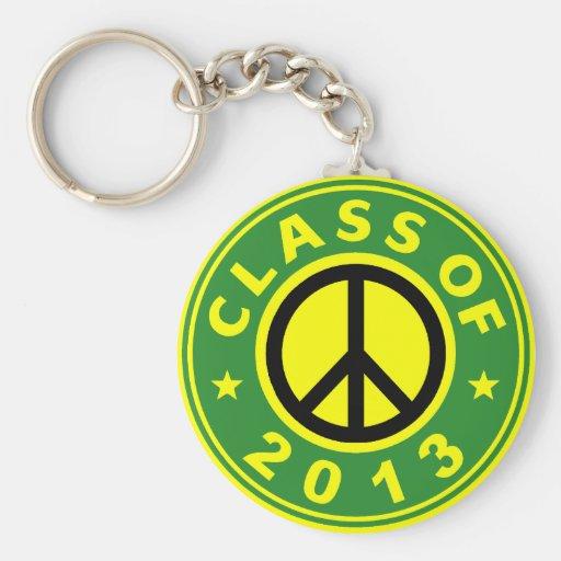 Class Of 2013 Peace Keychain