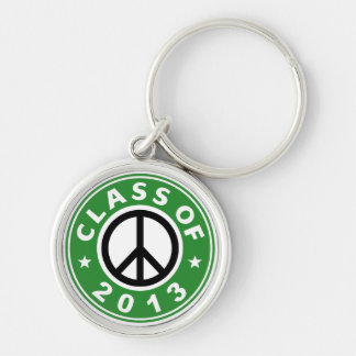 Class Of 2013 Peace Key Chains
