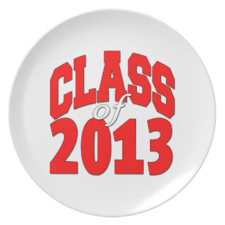 Class of 2013 (red2) plate