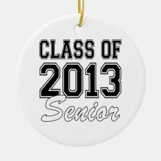 Class of 2013 Senior Ceramic Ornament