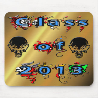 Class of 2013 - Skulls Mouse Pad