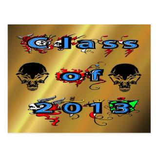 Class of 2013 - Skulls Postcards