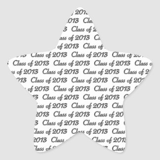 CLASS OF 2013 STAR STICKER