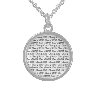 CLASS OF 2013 STERLING SILVER NECKLACE