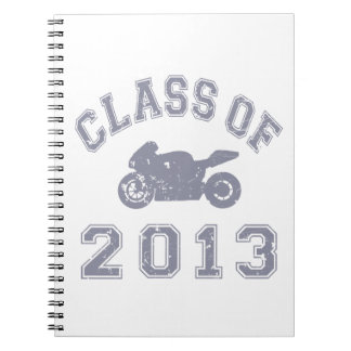 Class Of 2013 Superbike - Grey 2 Note Books