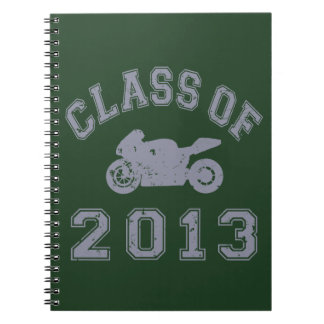 Class Of 2013 Superbike - Grey 2 Notebooks