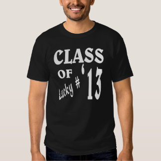 class of 2013 tees
