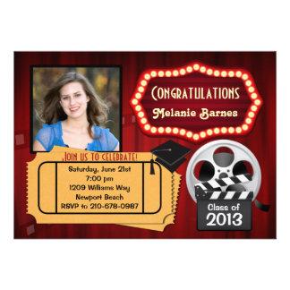 Class of 2013 Theater Graduation Invitation