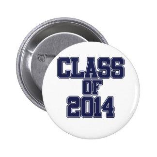 Class of 2014 button