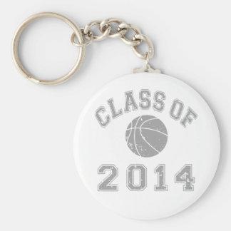 Class Of 2014 Basketball - Grey 2 Keychain
