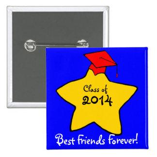 Class of 2014 Best Friends Forever Button