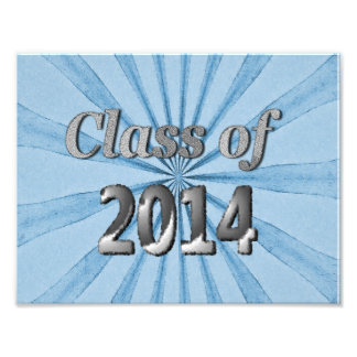 Class of 2014 Blue and Silver Photo