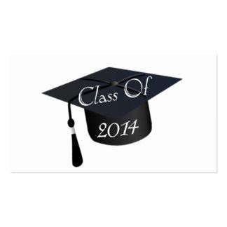 Class Of 2014 Graduation Cap Pack Of Standard Business Cards